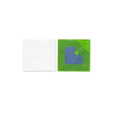 Etiquette RF 8,2 Mhz 25x25 mm BLANCHE - Désactivable