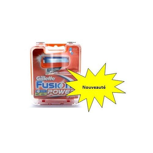 Boîtier Antivols pour 4 lames de rasoirs- Fusion Power G-key4