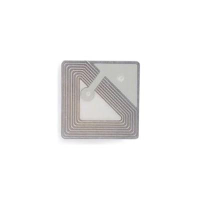 Etiquette RF 8,2 Mhz 30x30 mm TRANSPARENTE - Désactivable